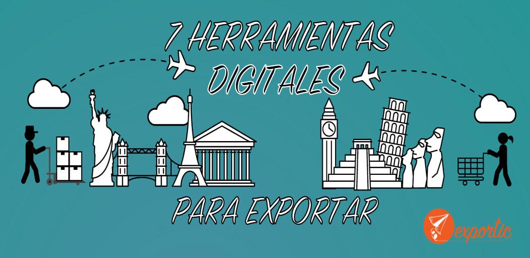 siete herramientas digitales para exportar