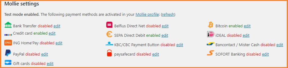 pagar con bitcoin mollie