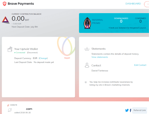 brave payments bat alternativa a google