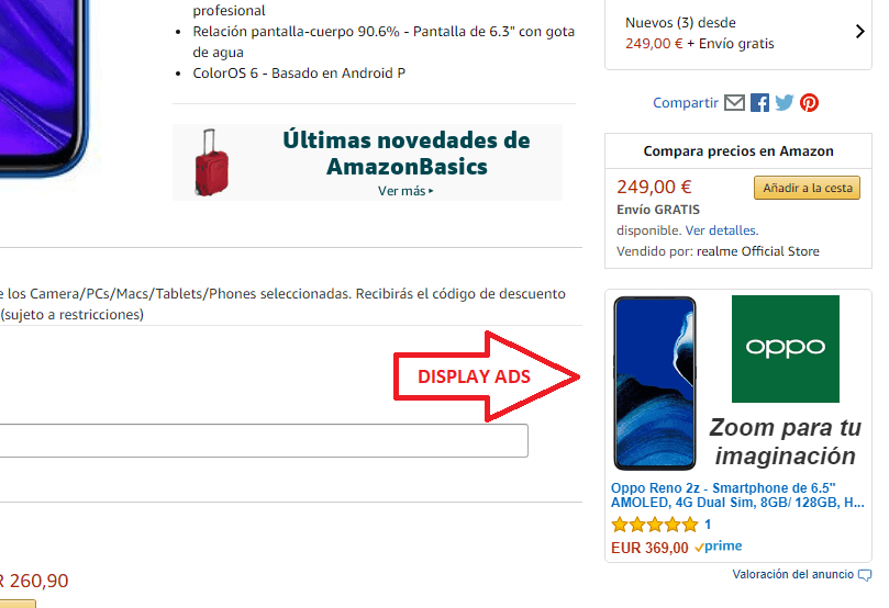 Display ads amazon